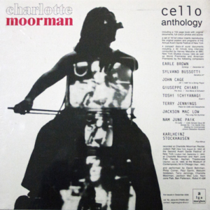 Charlotte Moorman – Cello Anthology cover