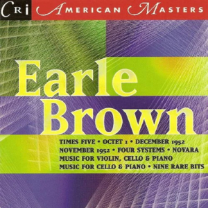 American Masters Series: Earle Brown cover