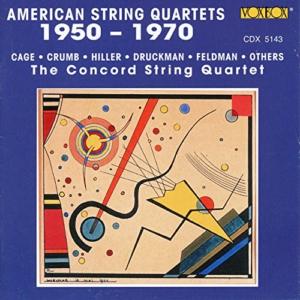 American String Quartets, 1950 – 1970 cover