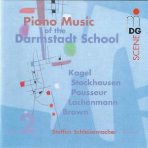 SCENE: Piano Music of the Darmstadt School Vol 2 cover
