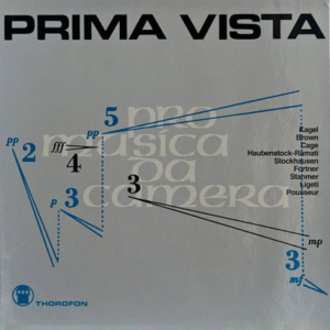 Prima Vista cover