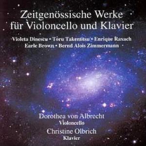 zeitgenoessische Werke fuer Violoncello und Klavier cover