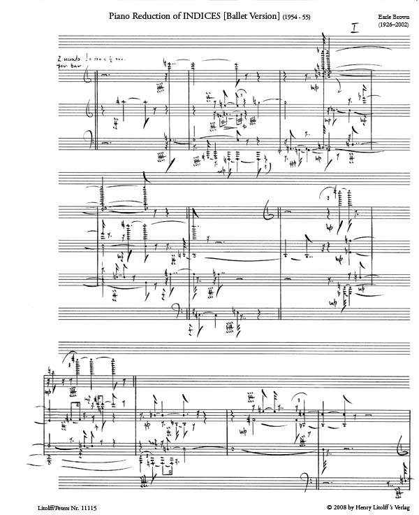 Indices (Piano Reduction) sample page