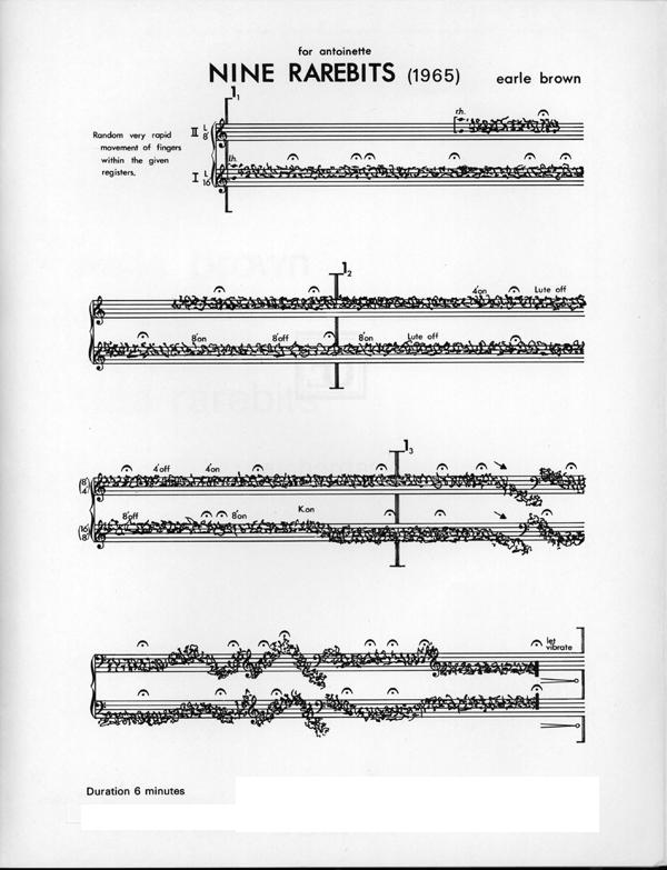 Nine Rarebits sample page